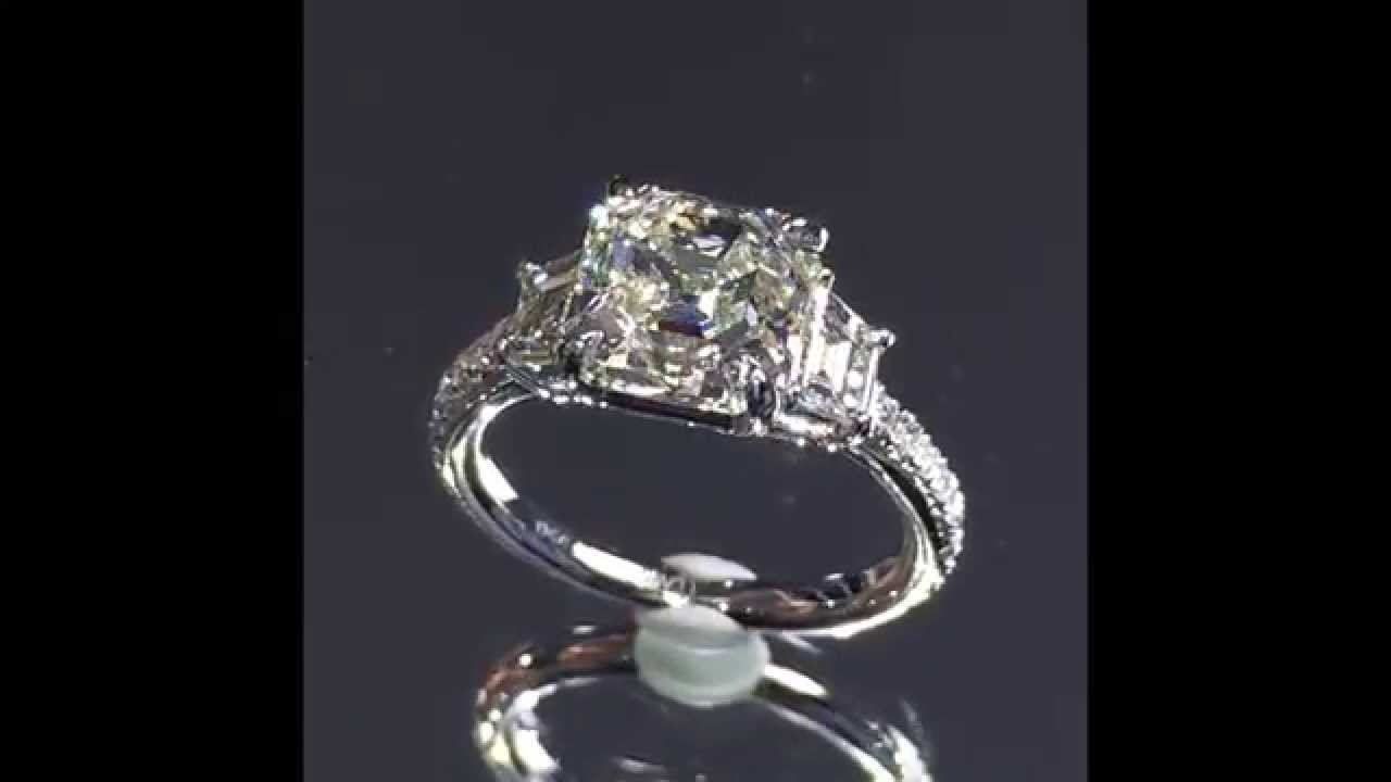 engagement cut ritani five rings blog awe asscher inspiring