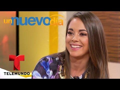 María Elisa Camargo habla de su personaje en Bajo el Mismo Cielo   Un Nuevo Día   Telemundo