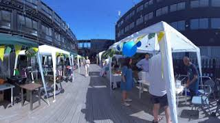 EXT. Radio Session in 3D 360° 8K Virtual Reality