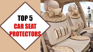 Top 5 Best Car Seat Protectors 2018 | Best Car Seat Protector Review By Jumpy Express