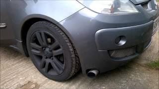 Colt CZT bumper exit exhaust