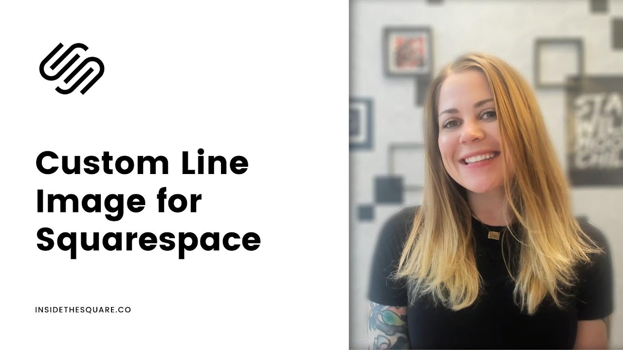 How use an image for your horizontal line in Squarespace 7.1  & 7 // Squarespace CSS Tutorial
