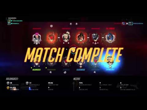 Hanzo, Genji, Or Mcree | Overwatch Competitive Stream PS4 Gameplay