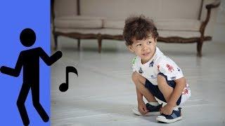 ДЕТСКИЕ ТАНЦЫ Марк танцует Ребенок танцует на репетиции праздника Видео детям 0+