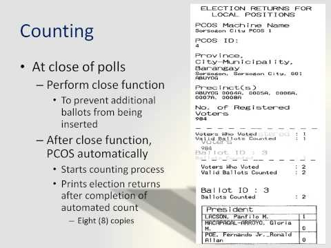 COMELEC materials for 2010 Philippine elections