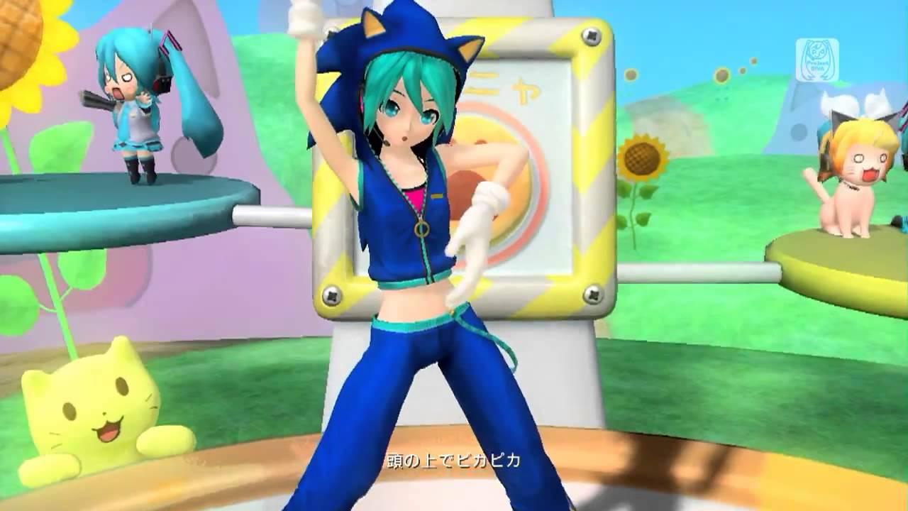 Mmd hatsune miku cosplay conejitos playboy dancing apple pie - 4 2