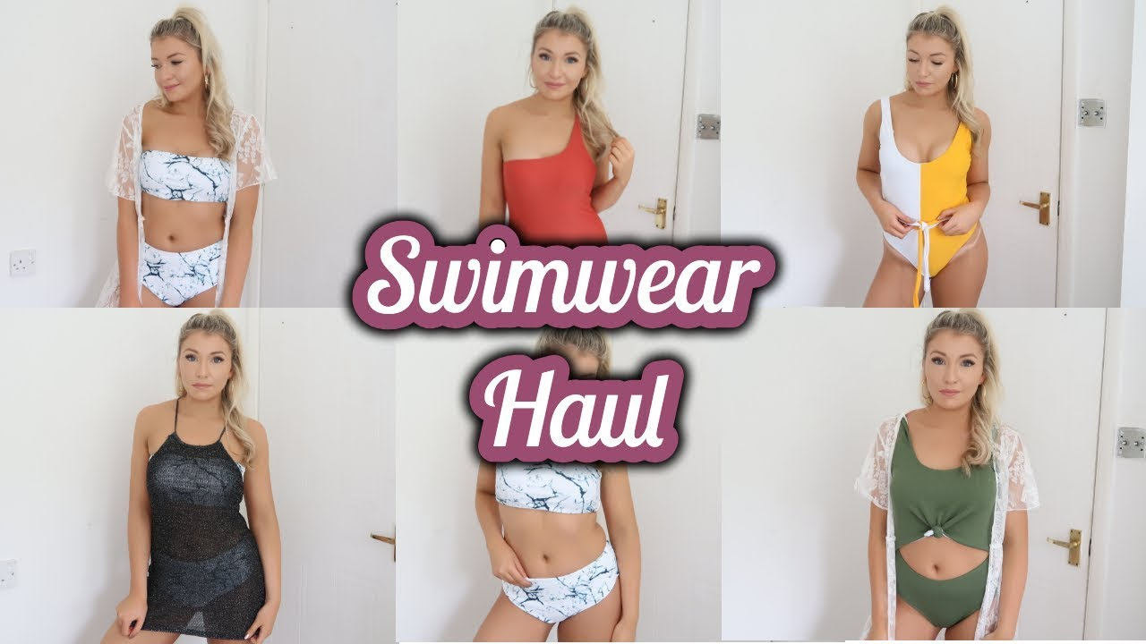 8f9c4d165f SUMMER SWIMWEAR HAUL | ZAFUL HAUL | ellie polly - YouTube