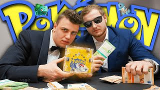 💸😍40.000€ POKÉMON DISPLAY aus 1999 gekauft?! | 1ST EDITION BASE SET gegönnt mit PAPAPLATTE?!