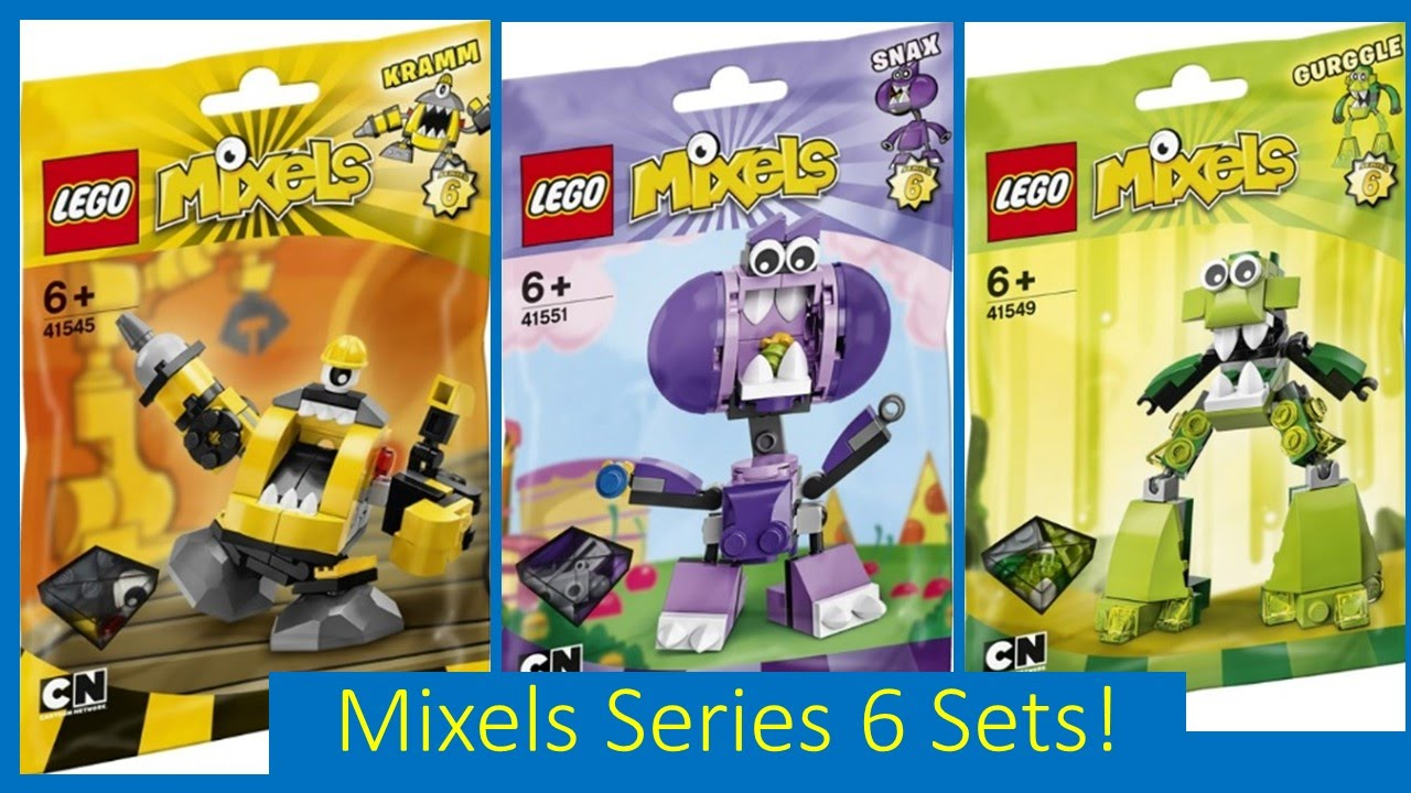 LEGO Mixels SERIES 6 Official Set Pictures/Images! - YouTube