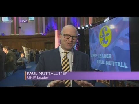 Paul Nuttall Owns His First Interview as UKIP Leader