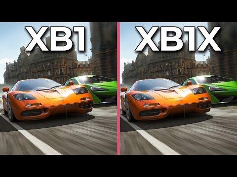Forza Horizon 4 – Xbox One vs Xbox One X Graphics Comparison