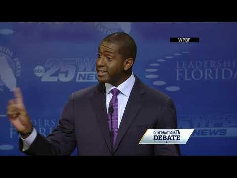 DeSantis, Gillum trade insults in Florida debate
