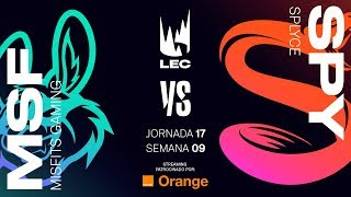 MISFITS GAMING VS SPLYCE | LEC | Spring Split [2019] League of Legends
