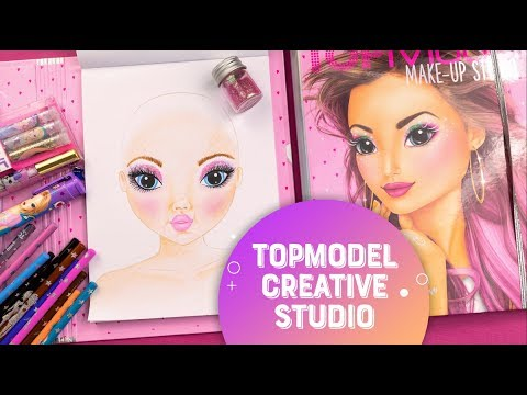 TOPModel Make-Up Studio - How To: Create Your Pink Glam Look!💖