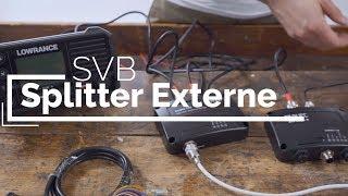 Installation d'un transpondeur AIS avec répartiteur externe | SVB