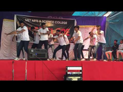 MET collage day final's best dance perfomance 2017