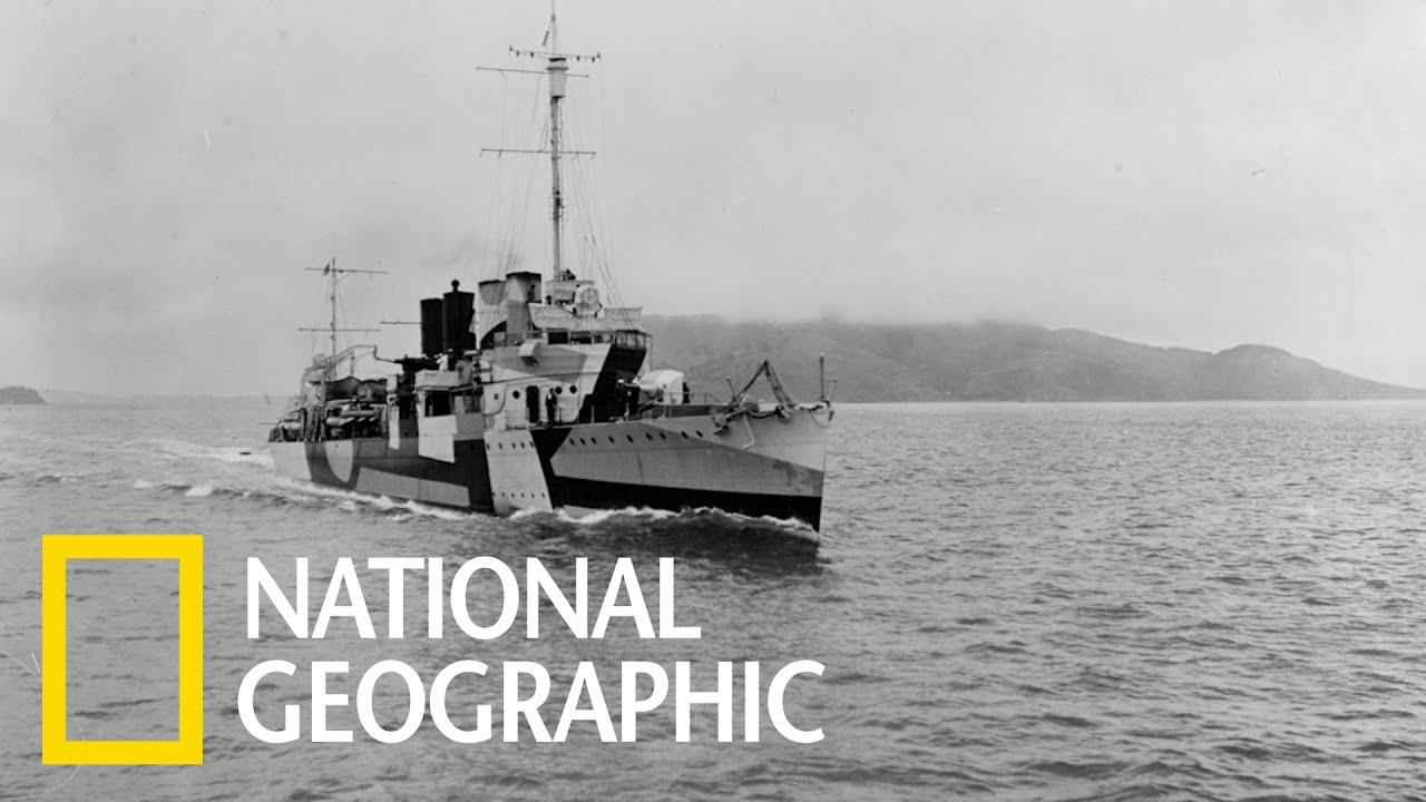這艘驅逐艦開出了美軍在二戰中的「第一槍」 《國家地理》雜誌