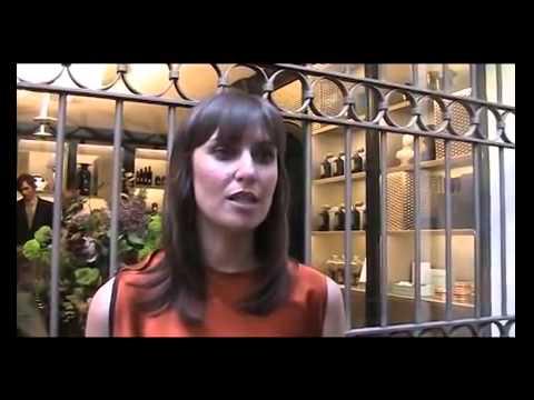 Tammy Frazer interviewed at Campomarzio70 in Rome.
