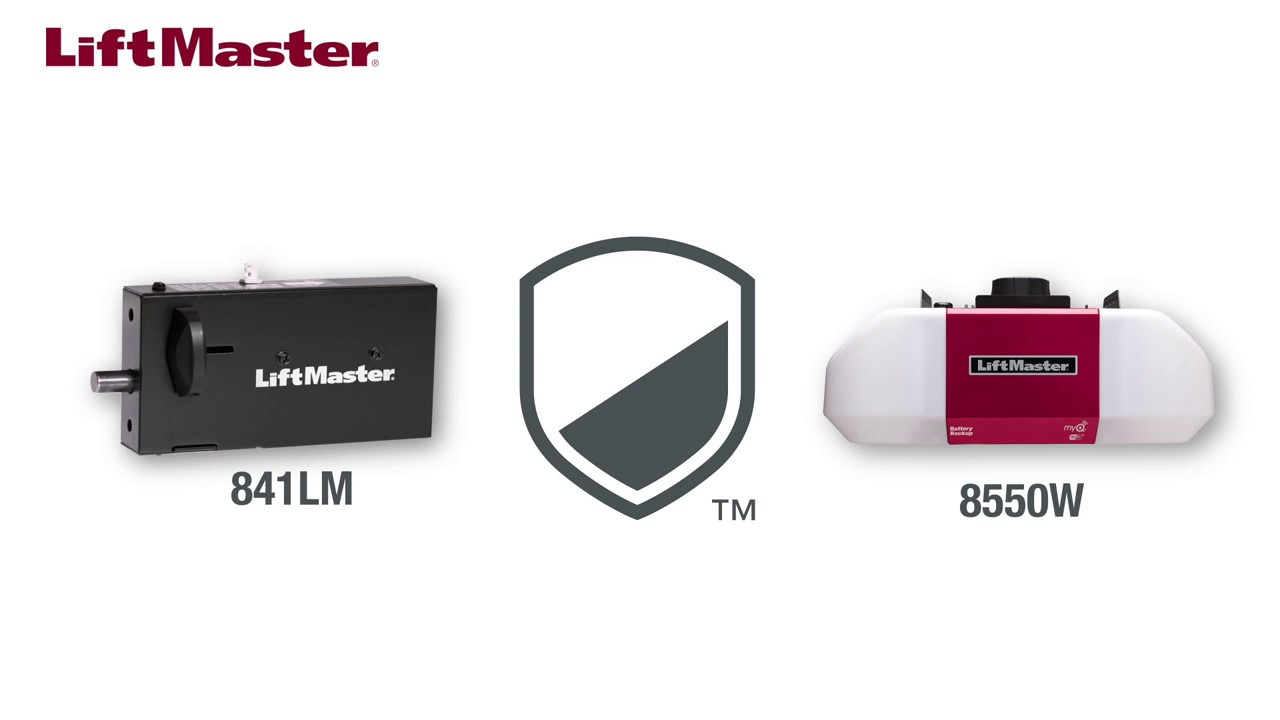 how to install the liftmaster automatic garage door lock model 841lm [ 1280 x 720 Pixel ]
