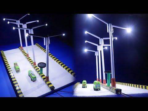 How To Make Automatic Street Light(DIY) রাত হলে জ্বলবে সকাল হলেই একাই অফ হয়ে যাবে।