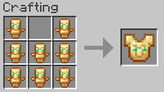 Minecraft UHC but you can craft armor from totems of undying...