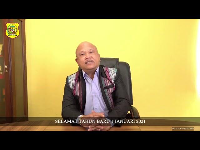 SELAMAT TAHUN BARU 1 JANUARI 2021 BAGI MASYARAKAT KABUPATEN DAIRI