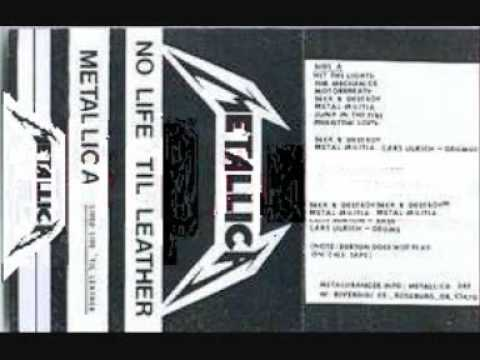 METALLICA No Life 'til Leather DEMO Motorbreath