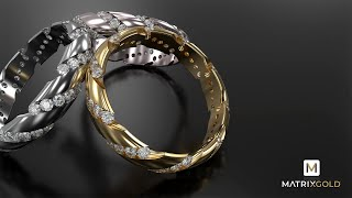 Channel Set Ring - MatrixGold® 2019