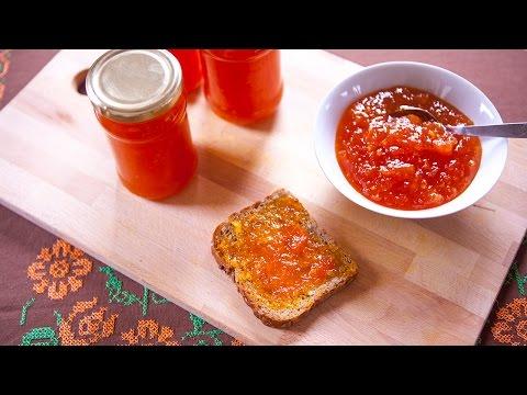 Kürbismarmelade mit Ingwer Rezept und Video