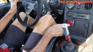 Quaife QBE60G Miata MX5 1st drive in Taxi