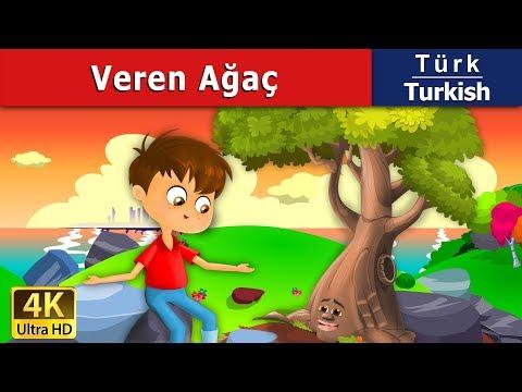 Veren Ağaç - Masal - çoçuk masalları dinle - 4K UHD - Türkçe peri masallar