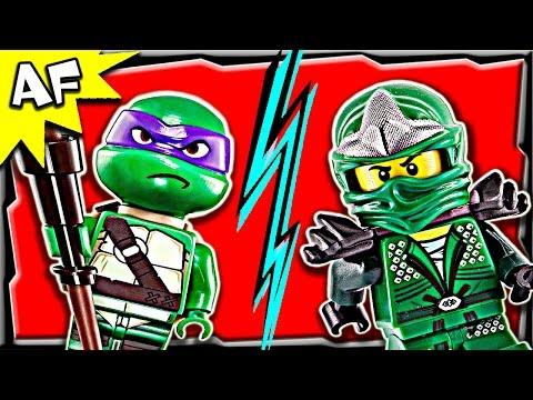 Lego Ninjago VS TMNT - Green Ninja Power