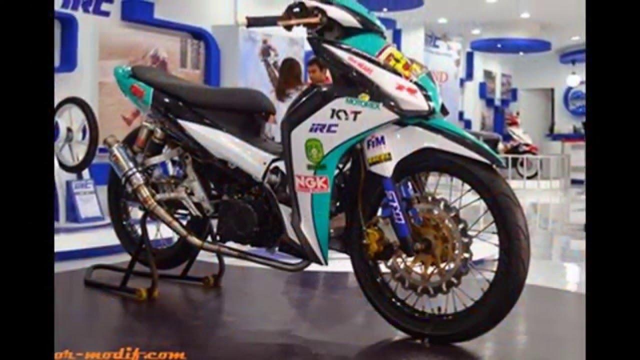 Motor Blade Modifikasi Terbaru 2018 Modifikasi Motor Kawasaki