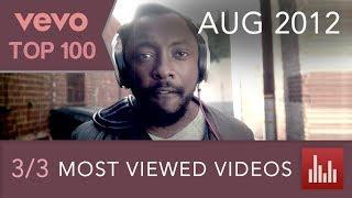 Vevo's 100 Most Viewed Videos [Pt. 3] (Aug. 2012)