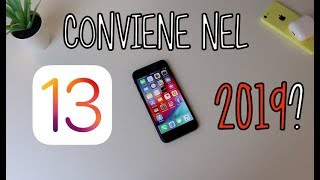 HA SENSO iPhone 8 + iOS 13 nel 2019?