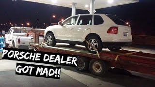 Why the Porsche Dealer got MAD at my $800 TRUCK!