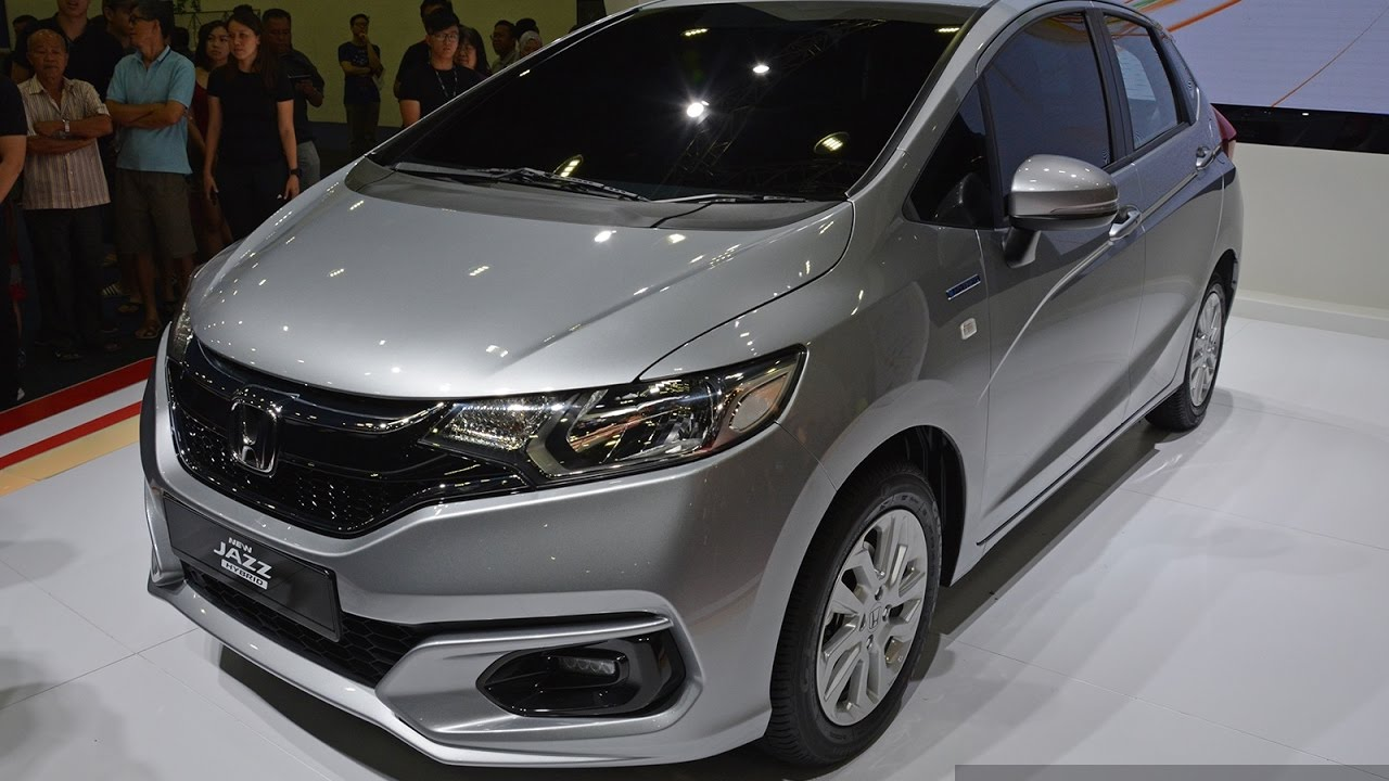 2017 Honda Jazz Hybrid Facelift Quick Walk Around Preview Youtube