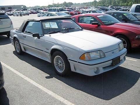 1989 Ford Mustang Gt 5 0 Convertible Start Up Exhaust