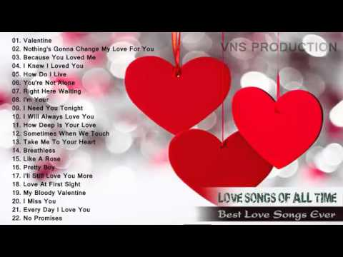 Hot Top 100 Romantic Love songs Playlist  ...