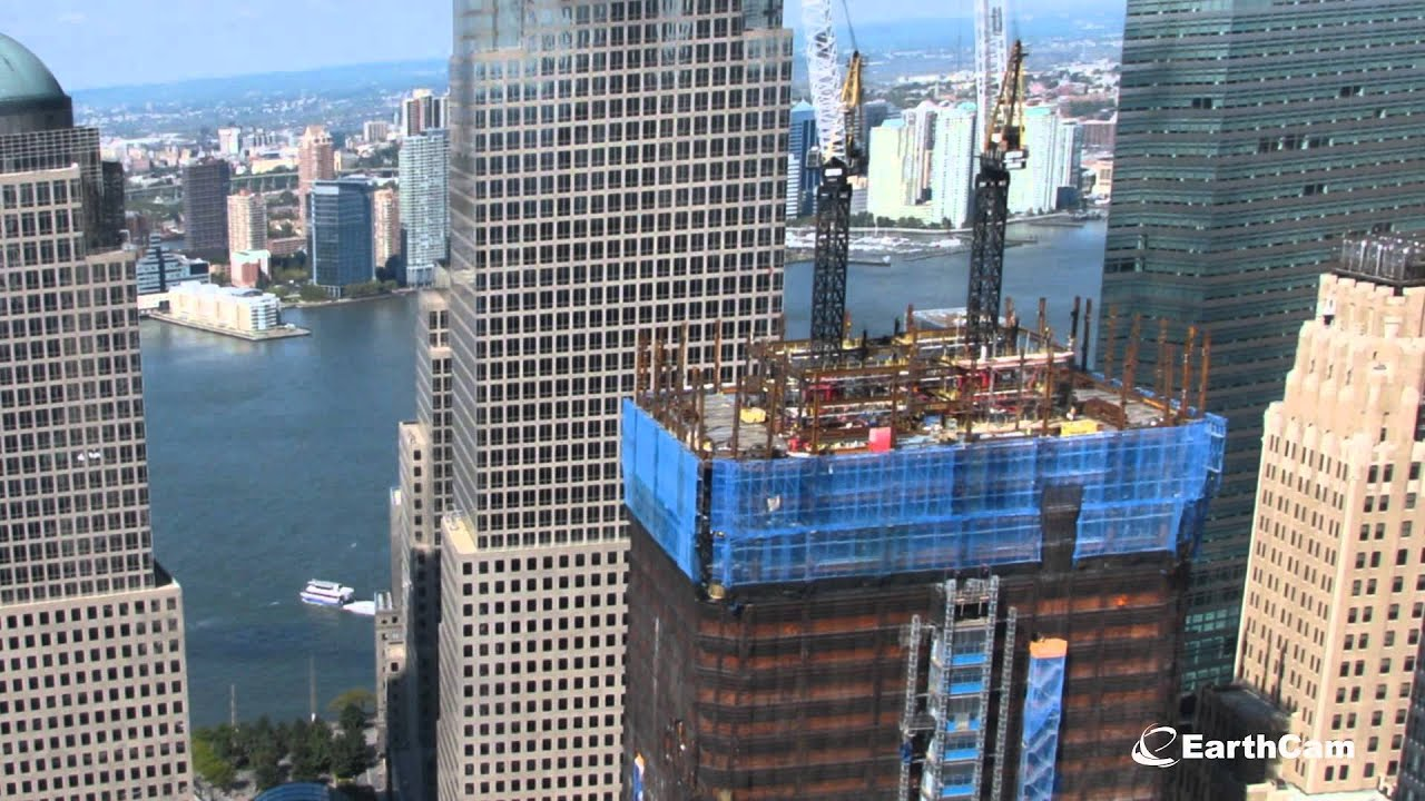 Official One World Trade Center Time Lapse 2004 2017