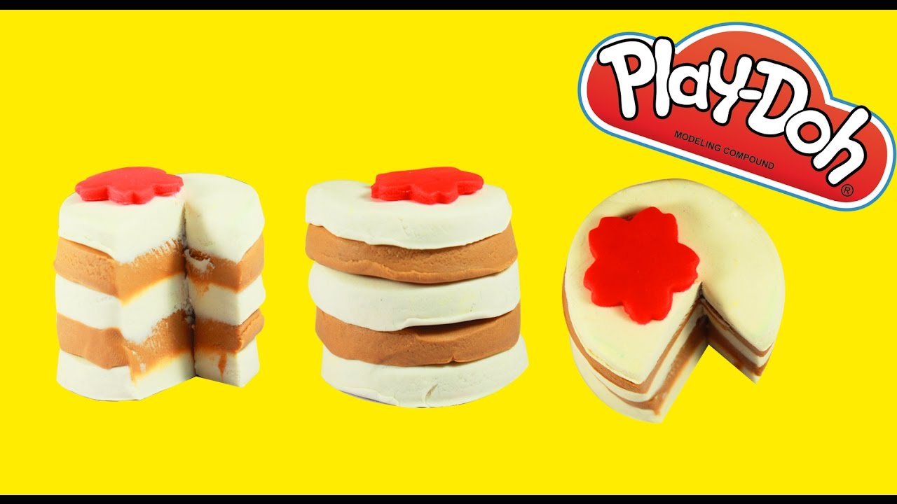 how to make play doh cake play doh cake for childrens video for kids youtube. Black Bedroom Furniture Sets. Home Design Ideas