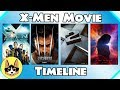 X-Men Movie Timeline - All 10 Xmen Movies from Fox/Marvel!