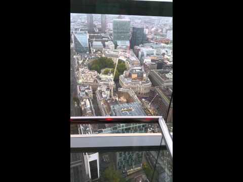 View from Heron Tower / Sushi Samba, London