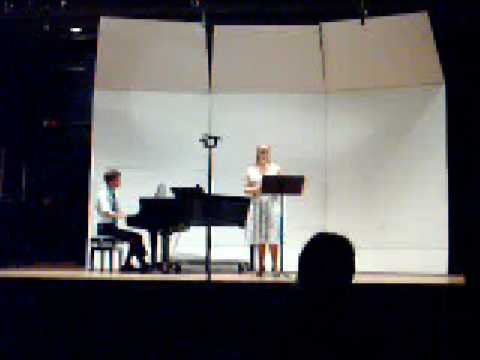 "Nolan Stolz: ""Fog"" for soprano and piano (live)"