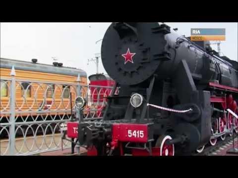 Locomotora que transportó el cuerpo de Lenin a Moscú  Vídeo  RIA Novosti