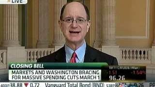Sherman Discusses U.S. Economy, Budget, and Sequester on CNBC