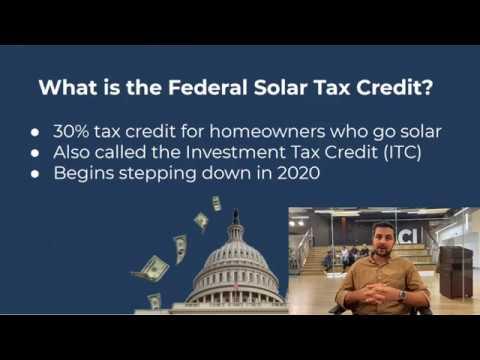 Home Improvement Tax Credits 2020.Federal Solar Tax Credit Solar Com