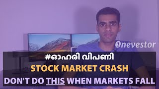 The 5 DOs and DONTs of a Stock Market Crash [MALAYALAM / EPISODE #20]