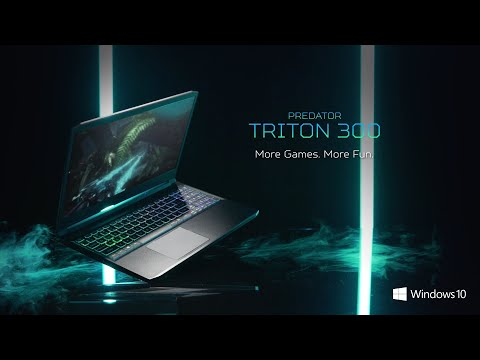 Triton 300 Gaming Laptop – Re-Forged & Battle Ready | Predator