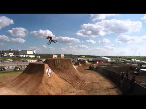 X Games Austin BMX Dirt course preview ESPN YouTubeX Games Bmx Dirt